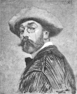 Eugene Grasset Self Portrait
