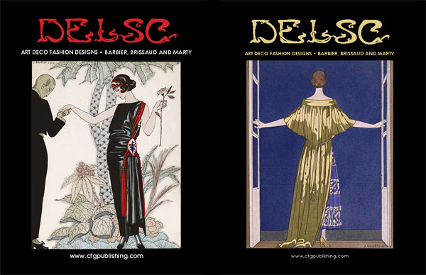 Art Deco Fashion Design by Barbier, Brissaud and Marty
