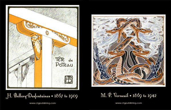 Art Nouveau Decorative Animal Designs