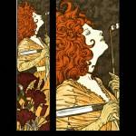 Eugene Grasset Les Dix Estampes -- Extravagence