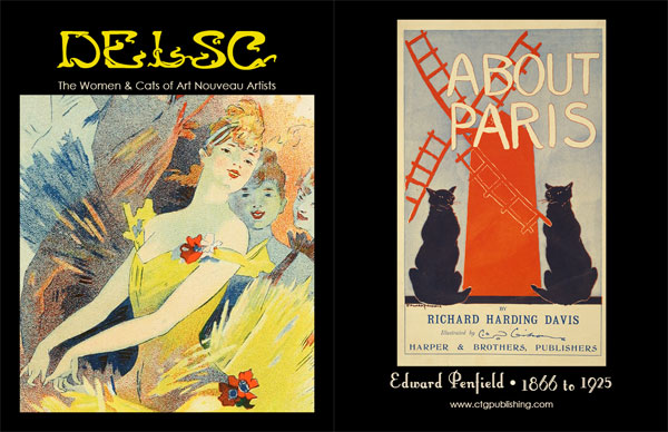 The Women and Cats of Art Nouveau Artists