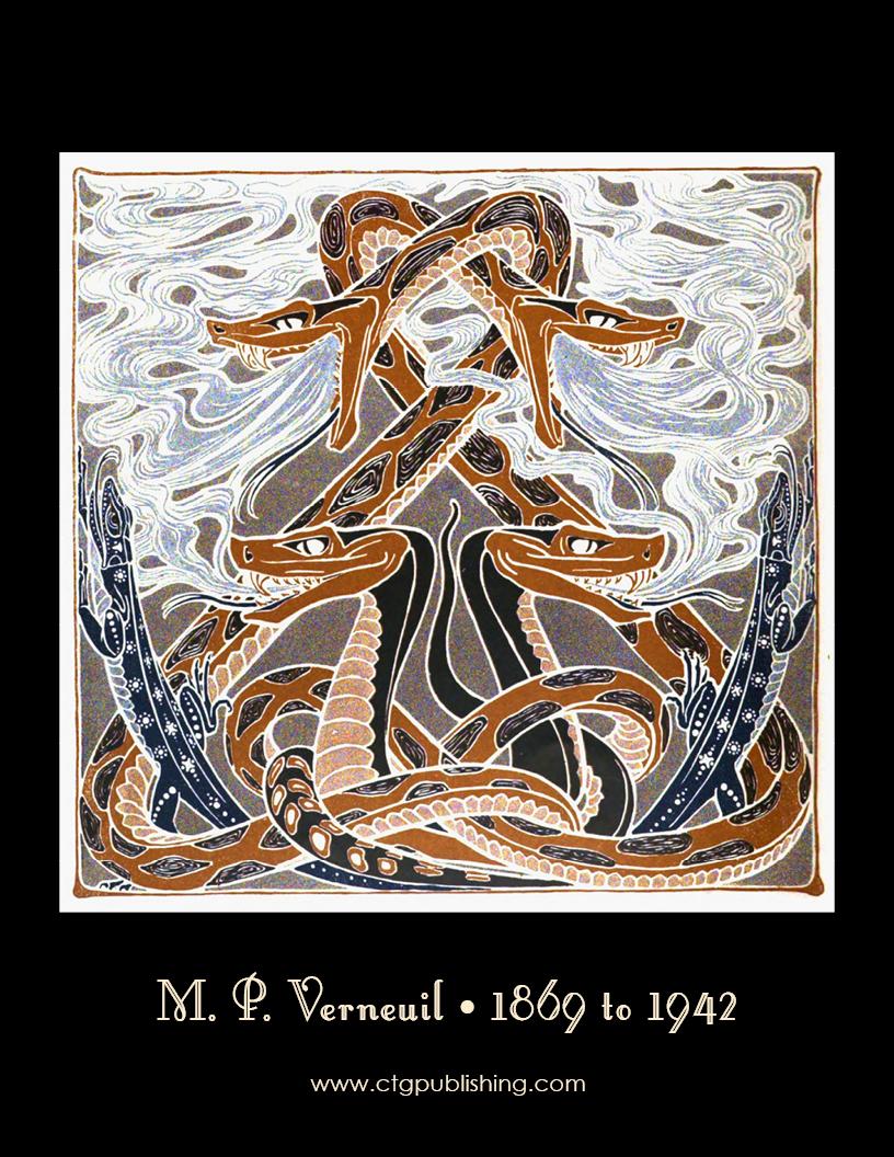 Art nouveau animal designs - Art deco art nouveau ...