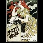 Eugene Grasset Encre L. Marquet Poster