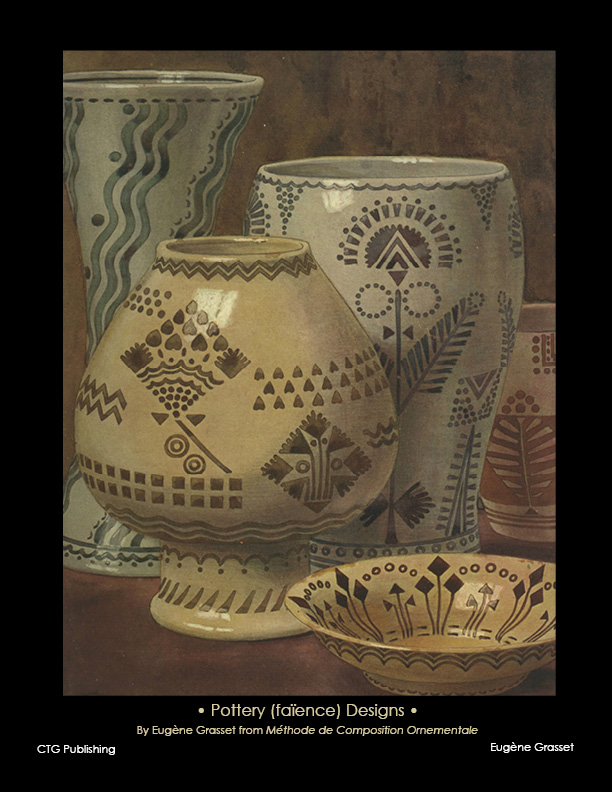 eugene grasset pottery designs