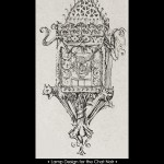 Eugene Grasset Le Chat Noir Cabaret Lamp Design