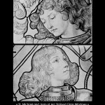 Eugene Grasset Stained Glass Windows - St Michael and Joan of Arc