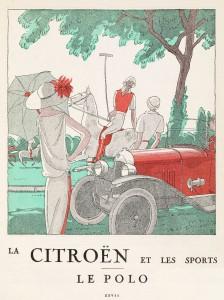 POLO -- Citroën Art Deco Sports Poster Series