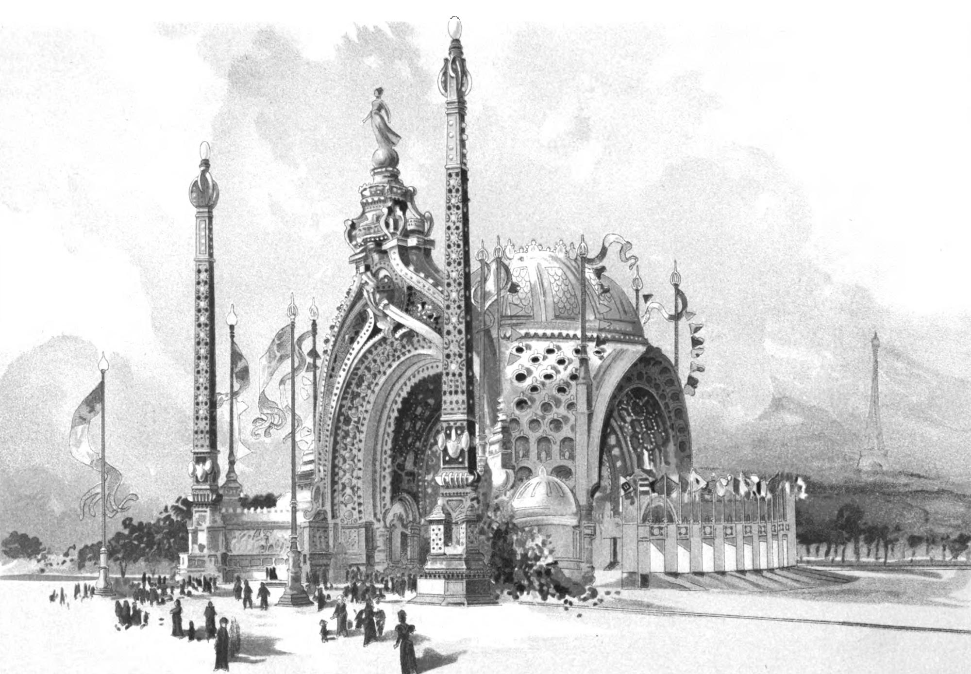 Rene binet paris exposition 1900 entrance art et for Arts et decoration
