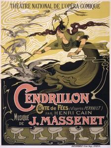 Cinderella Cendrillon Opera by Jules Massenet Poster circa 1899