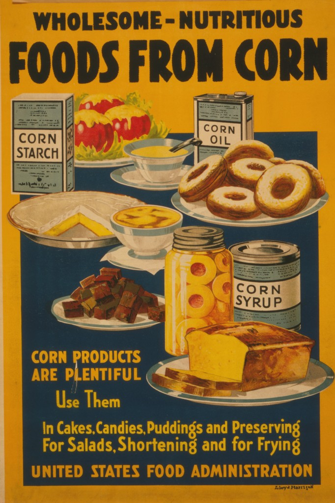 Corn The Food Of The Nation Usda Posters Circa 1918