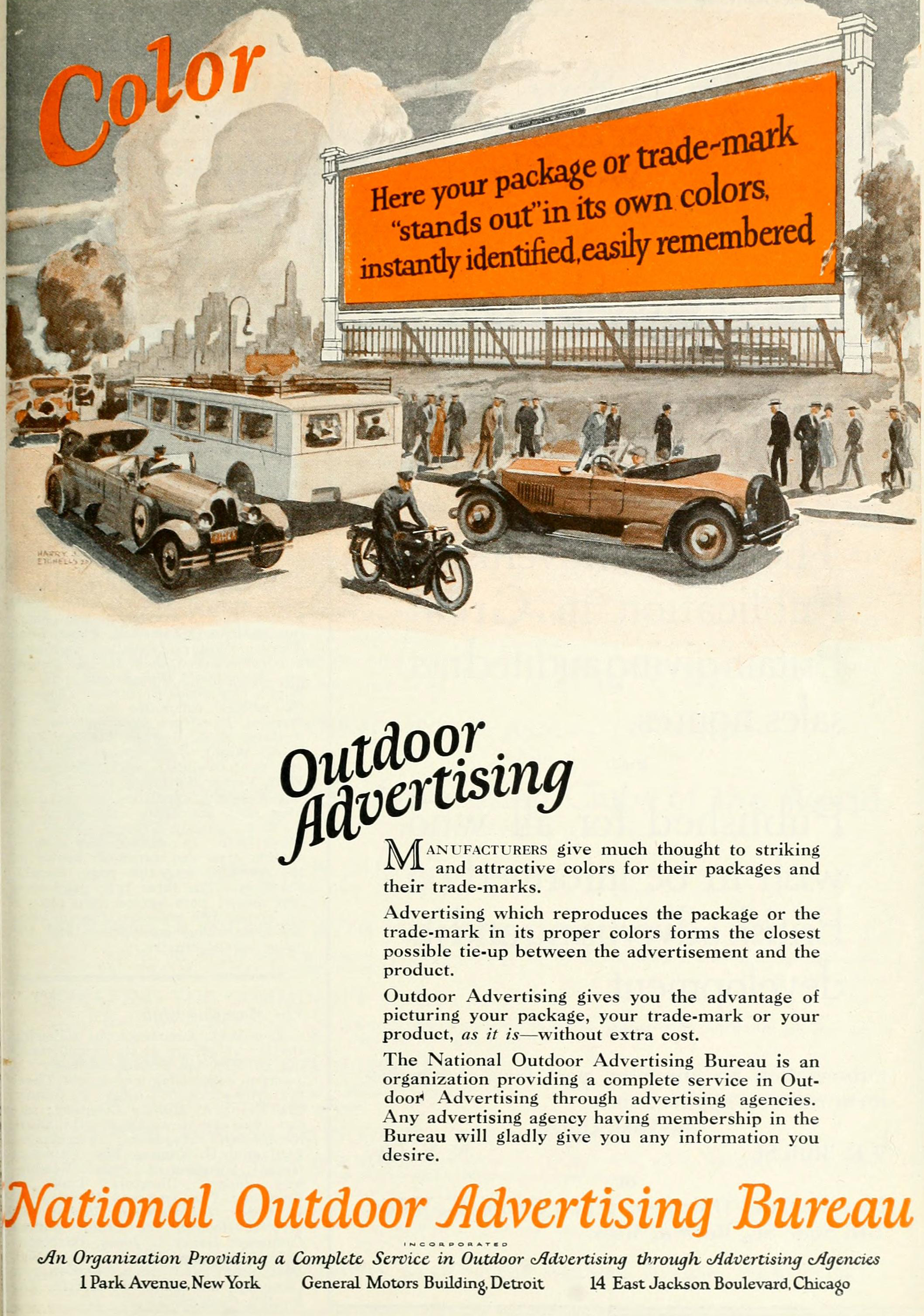 national outdoor advertising bureau 1926 ad make your. Black Bedroom Furniture Sets. Home Design Ideas