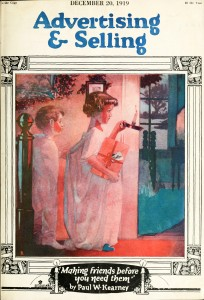 Selling and Advertising Magazine Christmas Edition circa 1919