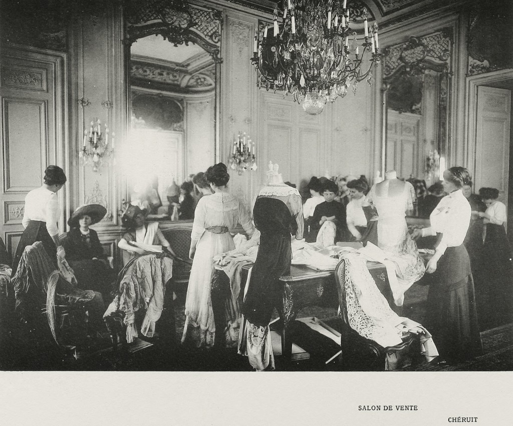 Madeleine Cheruit Fashion House Salesroom 1910