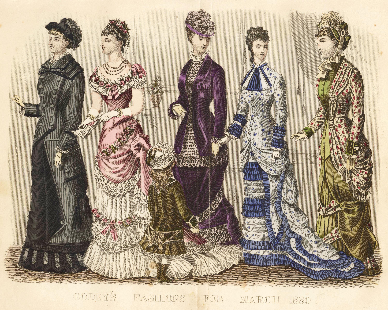 Womens Western Period Clothing