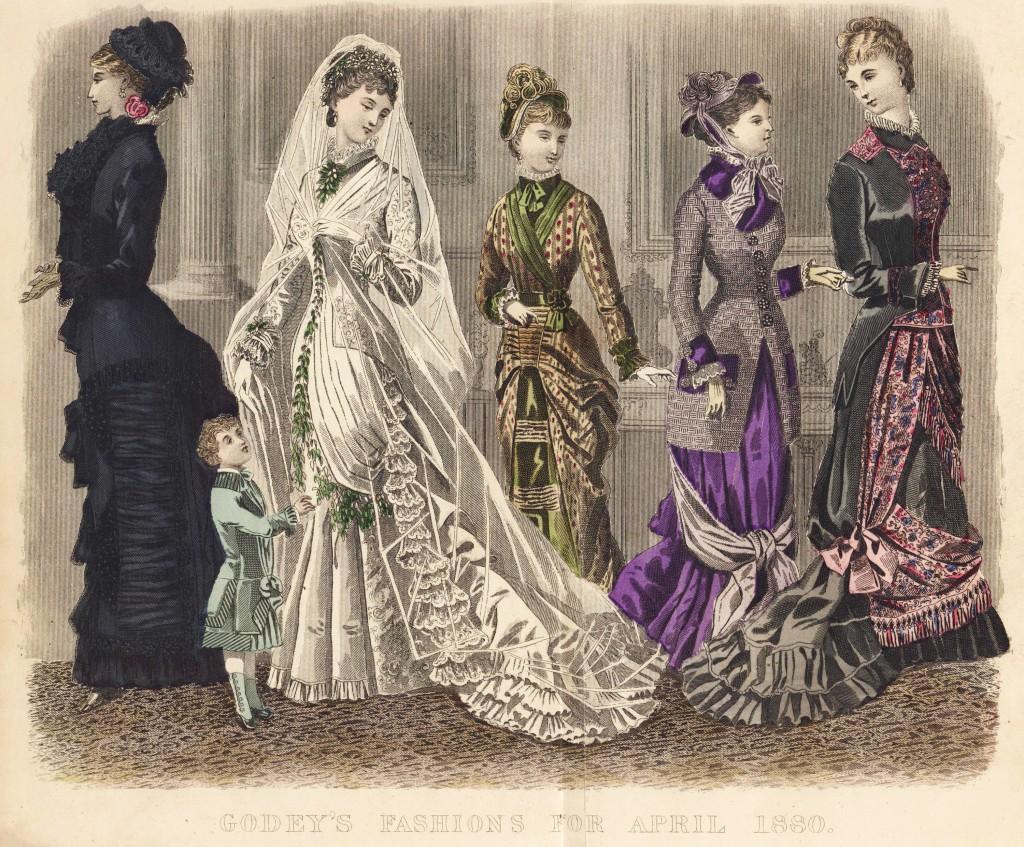 American Women's Fashion April 1880