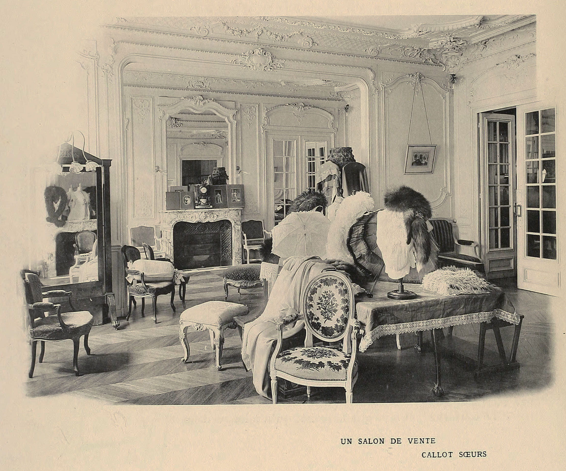 Callot soeurs fashion house salon circa 1910 for 10 best audiobooks of 2013 salon
