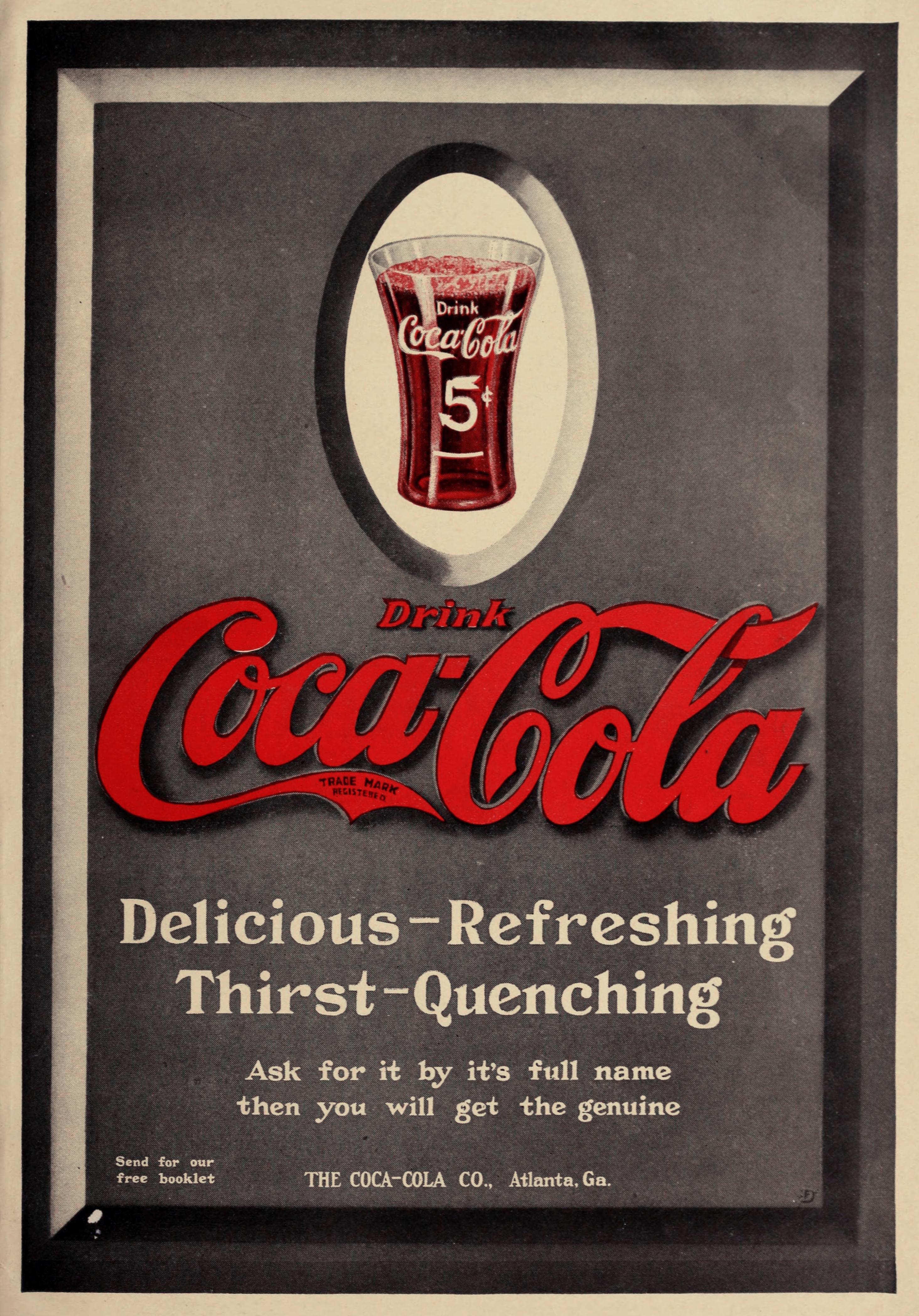 Coca-Cola Ad circa 1911