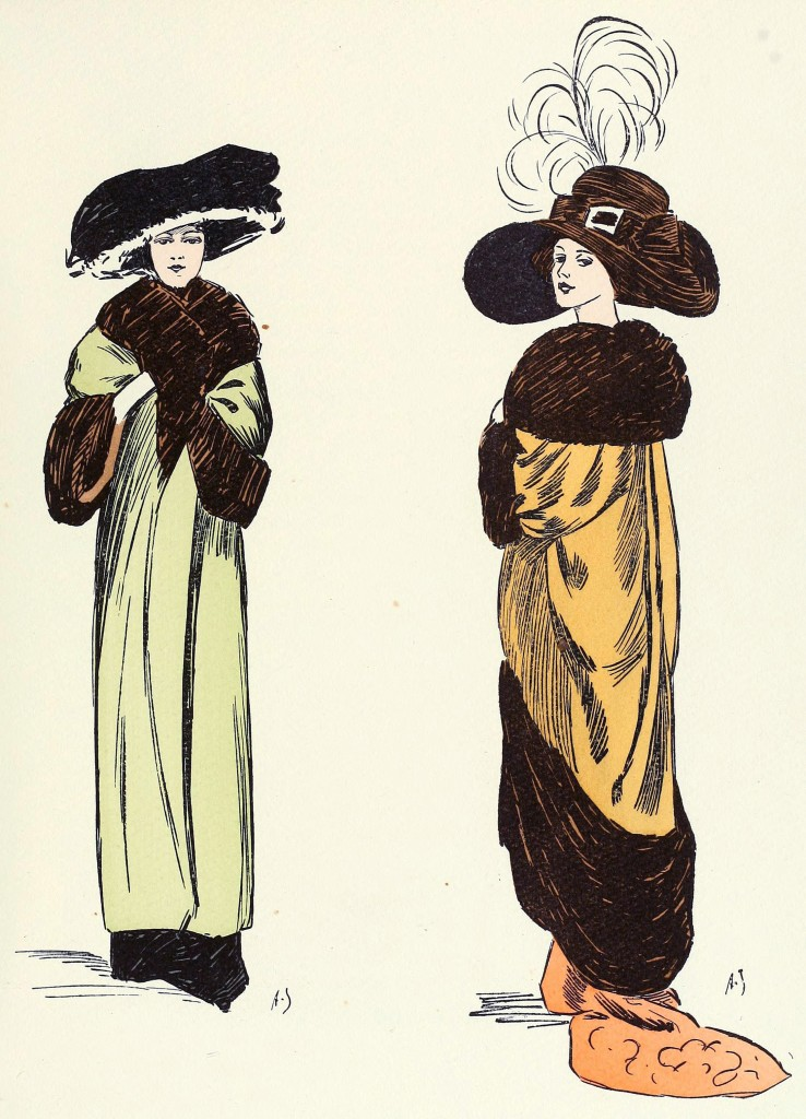 French fashion illustrations by a jungbluth 1910 page 2 - Le corner des createurs ...