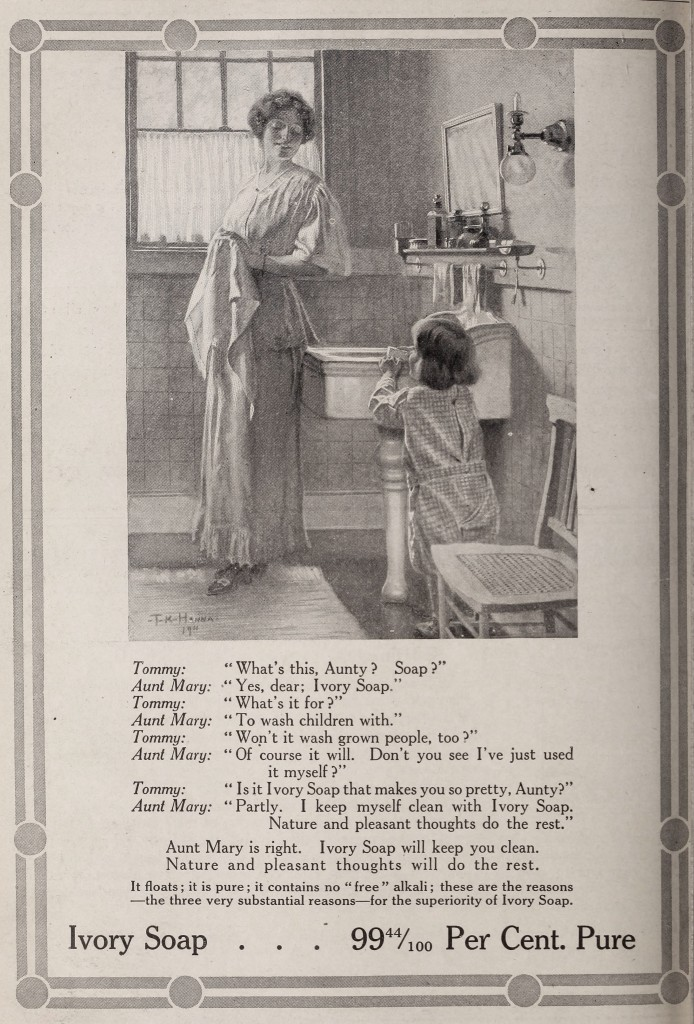 Ivory Soap Ads 1900 And 1910