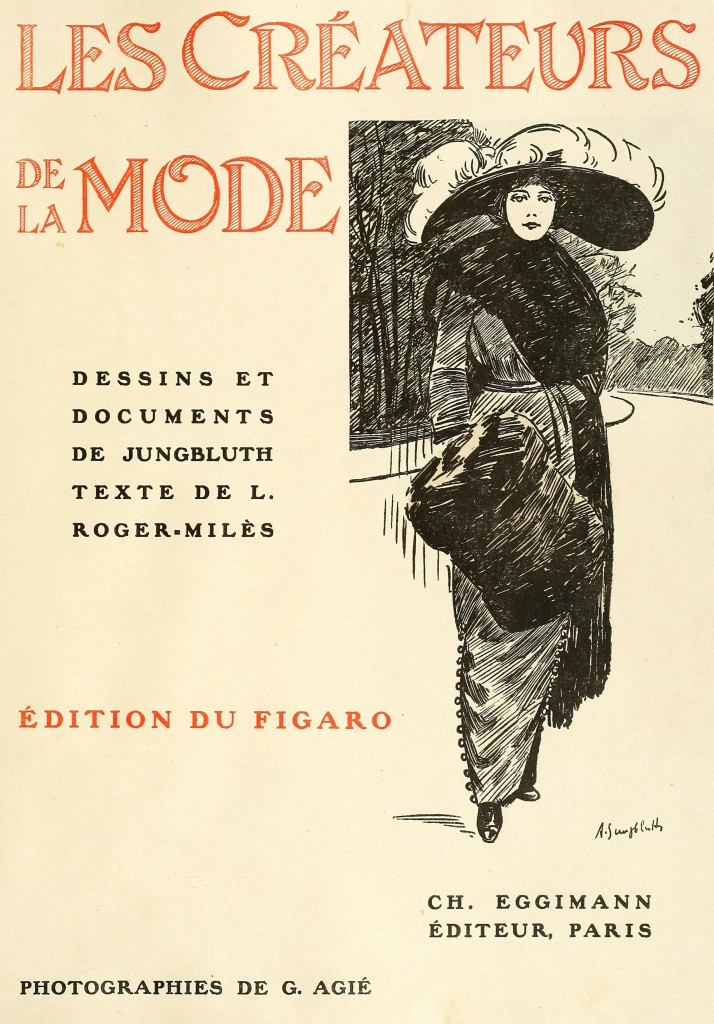 French fashion illustrations by a jungbluth 1910 - Le corner des createurs ...