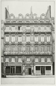 Maison Paquin Rue De La Paix 1909