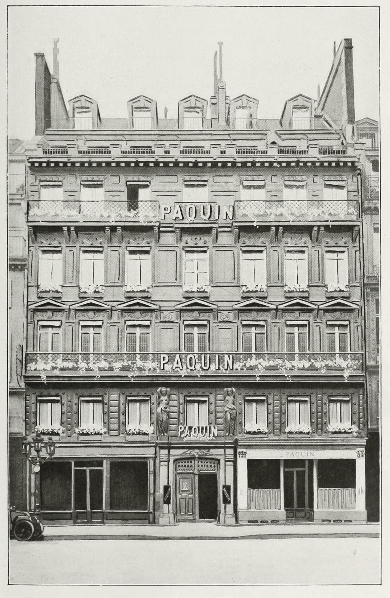 Maison paquin rue de la paix 1909 - La maison de jeanne eurodif ...
