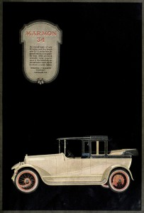 Marmon 34 Car Advertisement 1917