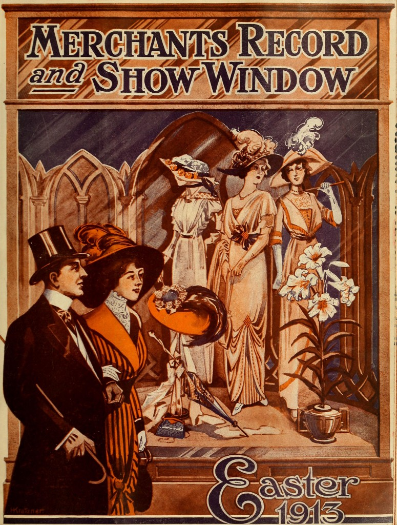 Easter 1913 - Merchants Record and Show Window Magazine Covers