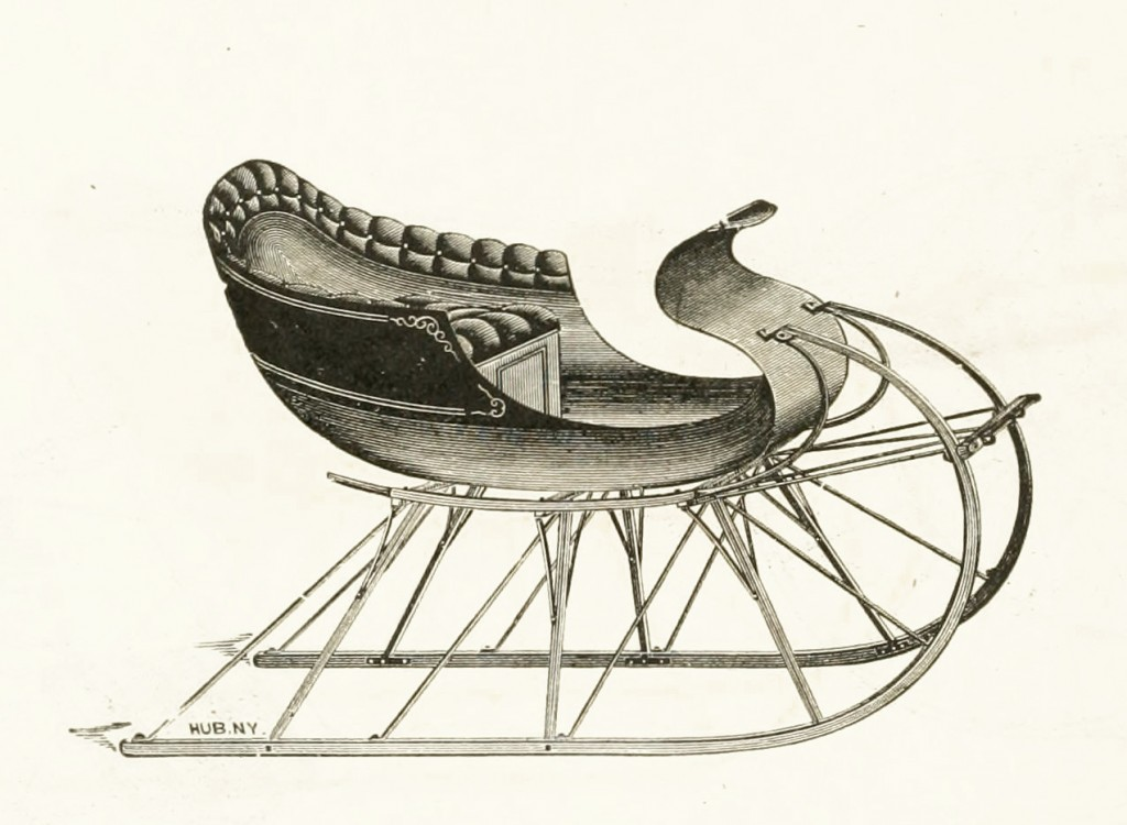 Northwestern Sleigh Co Minnesota Chief Model circa 1889