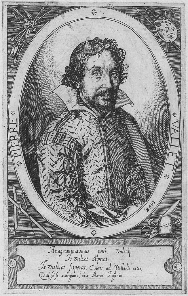 Pierre Vallet Illustration by the Pierre Vallet circa 1608