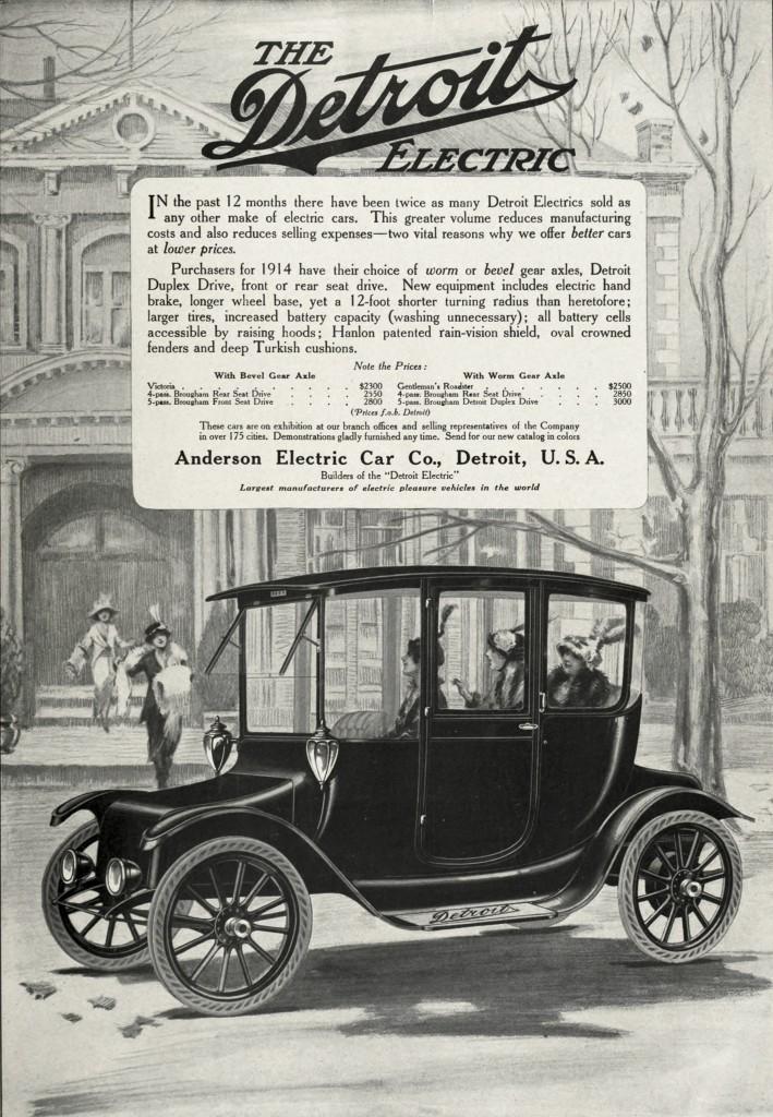 Anderson Electric Car Company Detroit