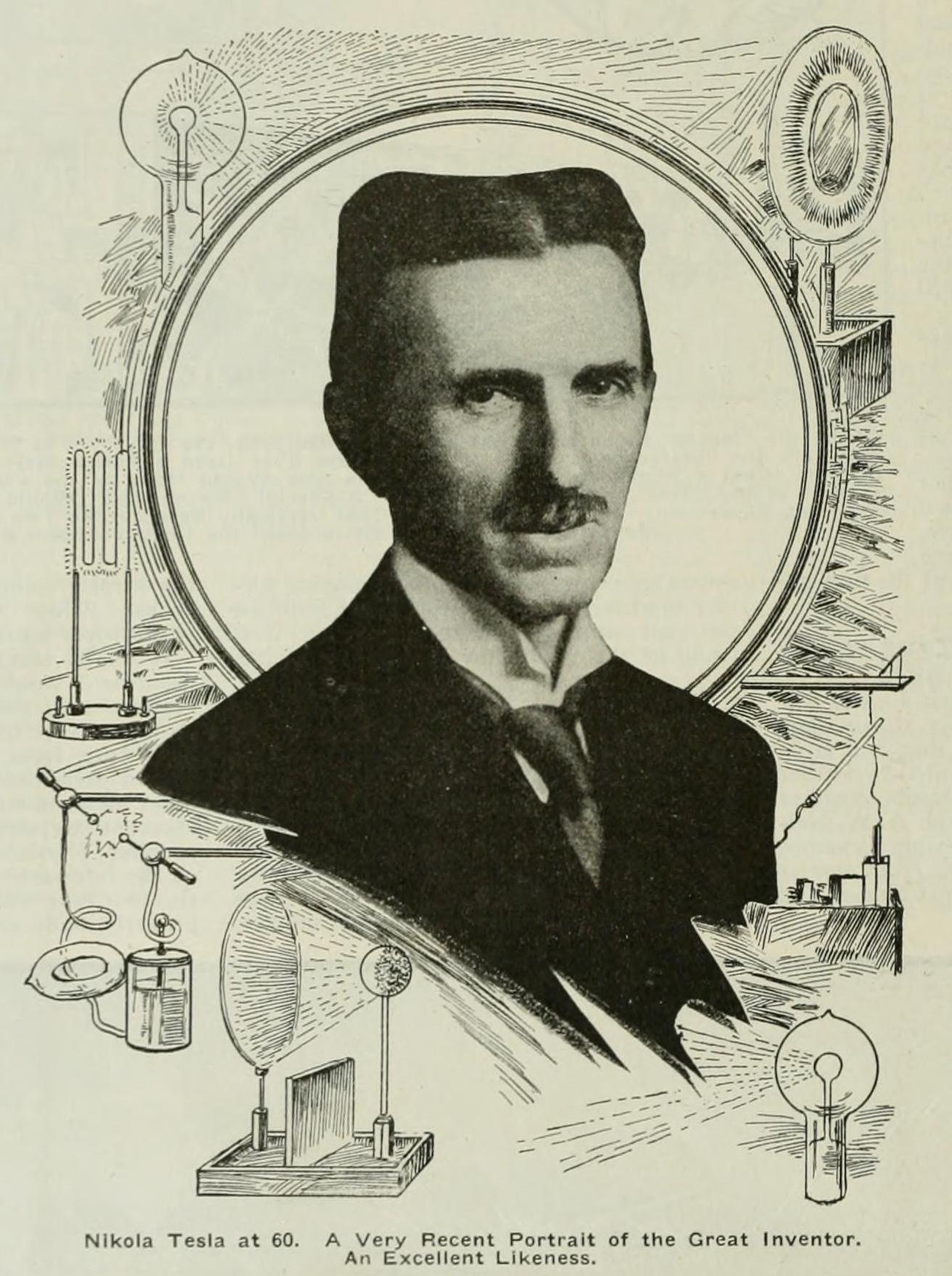Nikola Tesla Age 60