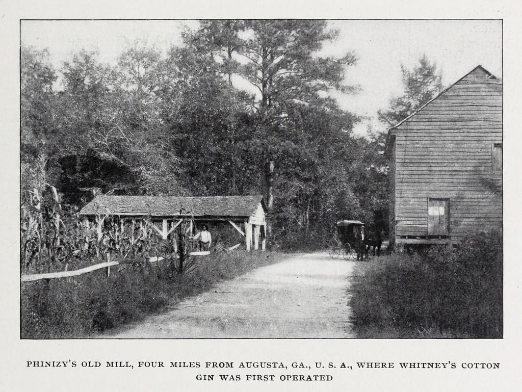 Phinizy s old mill augusta ga eli whitney