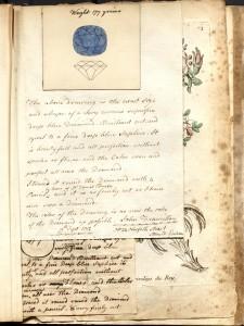 Pigot Diamond Drawing #2 - Christie's London Auction circa May 10, 1802
