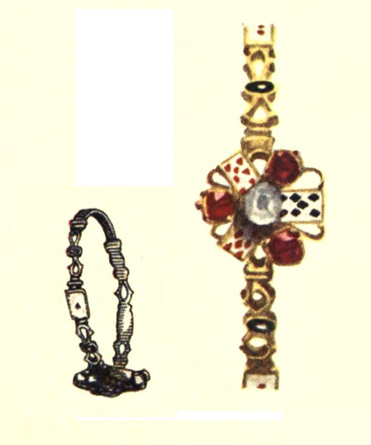 Ring Card Design circa the 18th Century