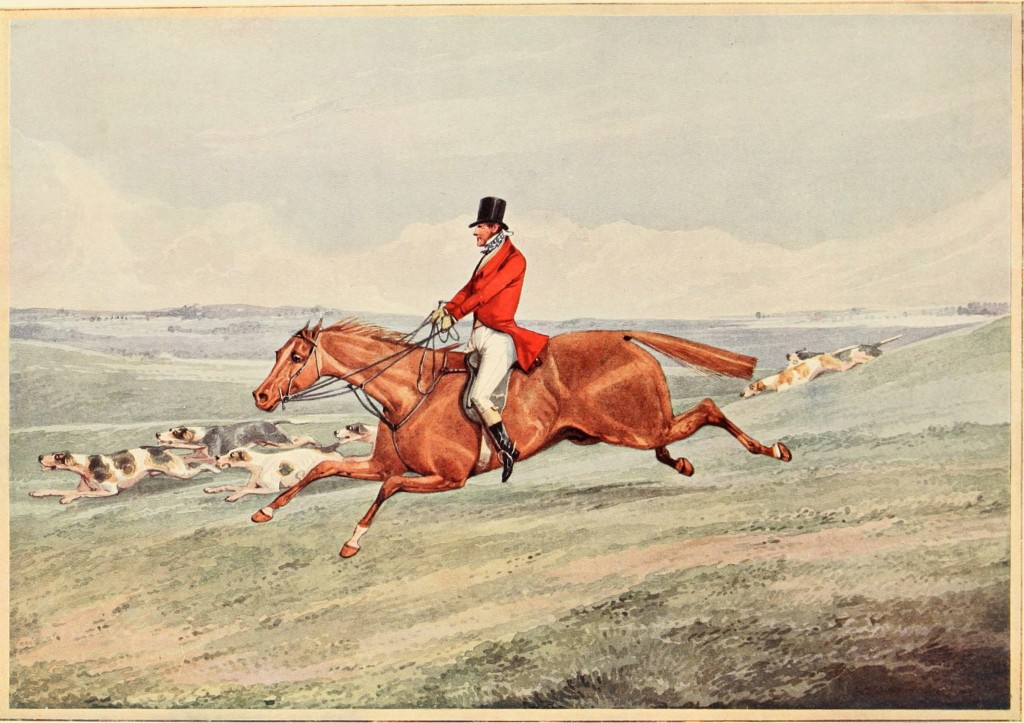 Fox Hunting - Taking The Lead - After Henry Aiken