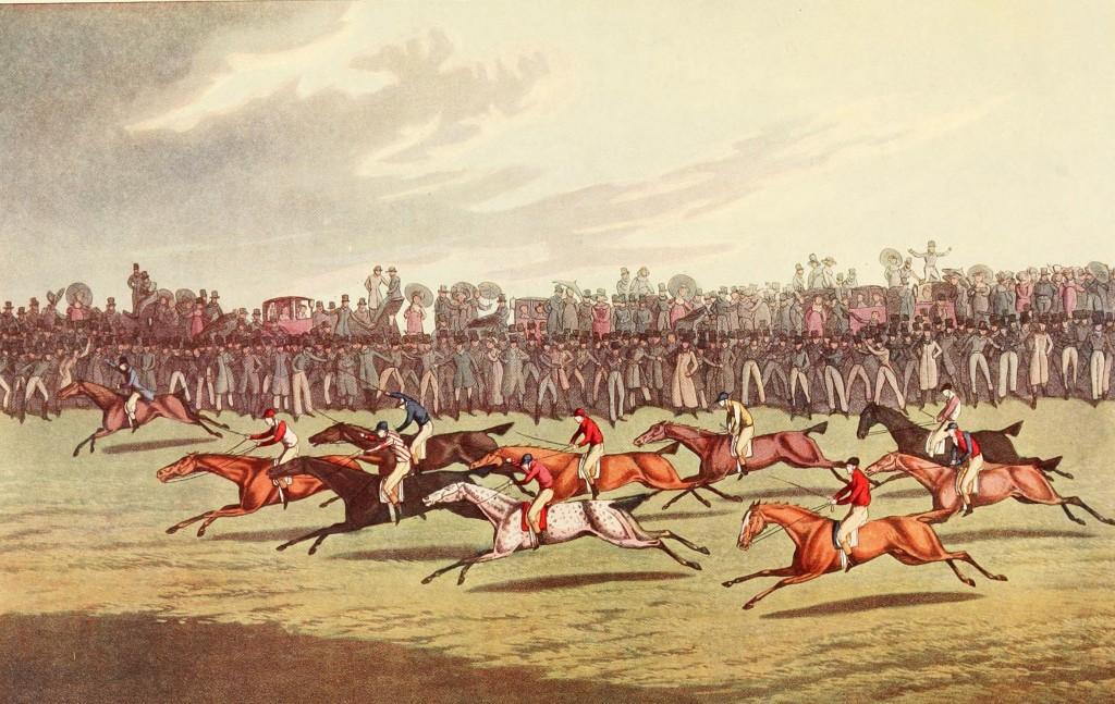 Racing by I. Clark After Henry Aiken