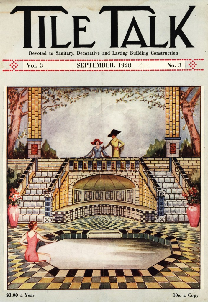 Tile Talk Magazine Cover 1928