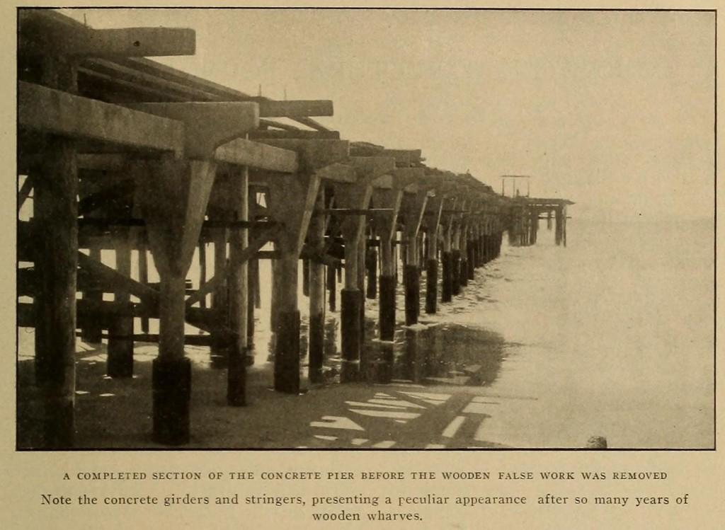 Santa Monica Pier Construction From Cassier's Magazine November 1909