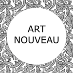 Art Nouveau Antique Print Collection