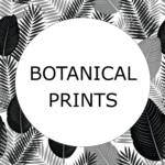 Antique Botanical Print Icon