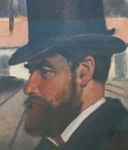 Henri Rouart painted by Edgar Degas at the Carnegie Museum Picture 4