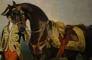 Pierre Alfred de Dreux Oil Painting The Emperor's Horse 1853 Image 2