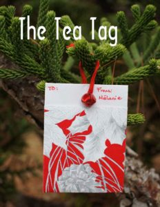 Gifting Tea with Paper -- The Tea Tag