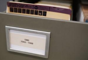 SME Report Microfiche Image 1
