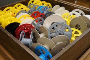 Empty Microfilm Reels
