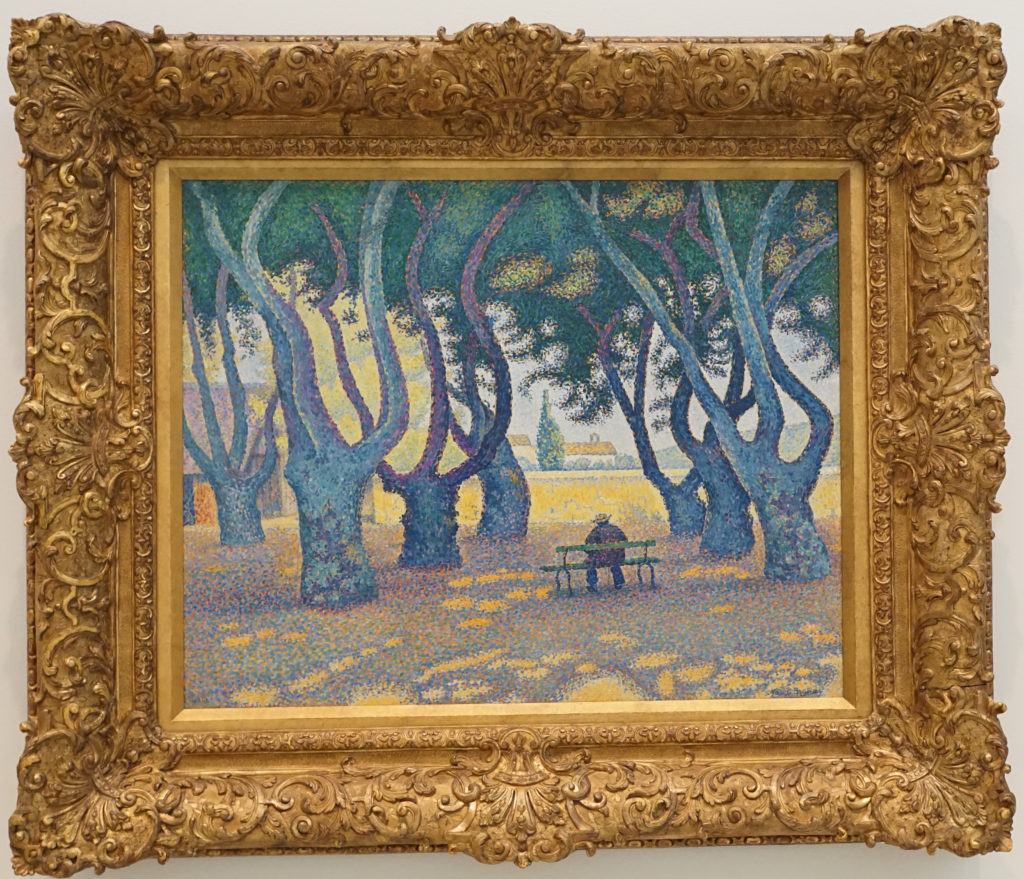 Place des Lices St Tropez by Paul Signac Oil Painting dated 1893 image 1