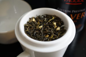 Thes de la Pagode Argumes Citrus Green Tea Blend Image 2