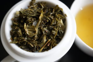 Thes de la Pagode Edition Prestige Dragon Fruit and Marigold Green Tea Full Leaf Image 9