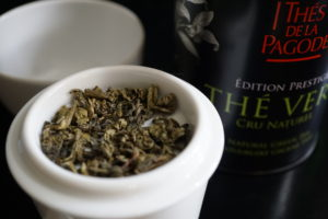 Thes de la Pagode Gunpowder Green Tea Image 4